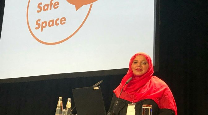 Shaista Aziz: keynote speech at Humanitarian Congress Berlin, 5 Oct 2018