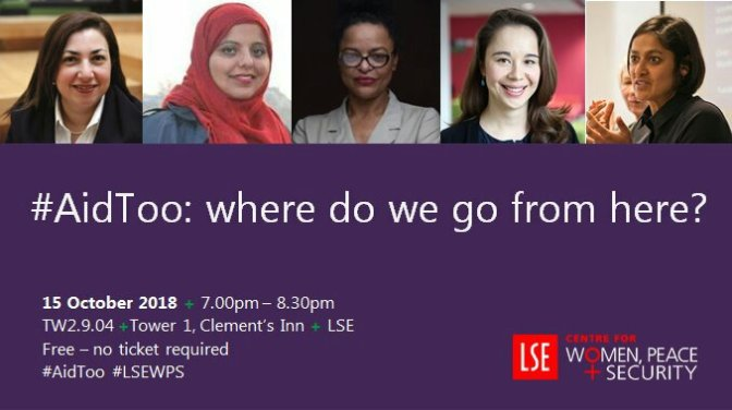 LSE panel debate on #aidtoo