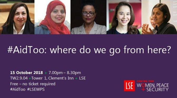 LSE panel debate on #aidtoo